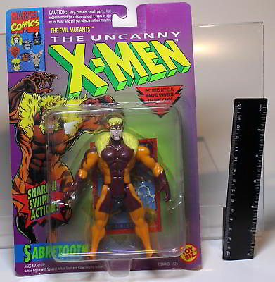 Marvel Sabretooth aus The Uncanny X-MEN von TOY BIZ 1993 MOC