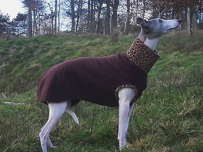 Whippet Sleeveless Fleece Jumper/Coat/ Pyjamas- NEW DESIGNS ADDED