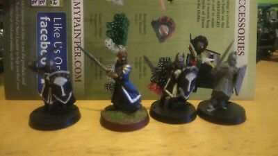 Games Workshop Lord of the Rings Isildur with 3 warriors