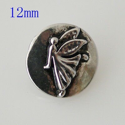 SNAP IN BUTTON CHARM FITS GINGER SNAPS STYLE JEWELRY FAMOUS STATUE #49 PHOTO