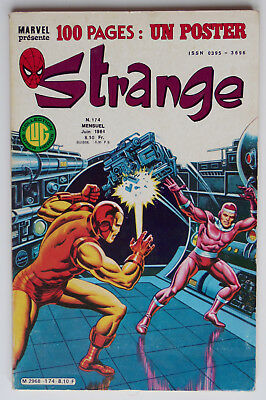Strange - N° 174- 5 Juin 1984 - Be + Poster Attaché