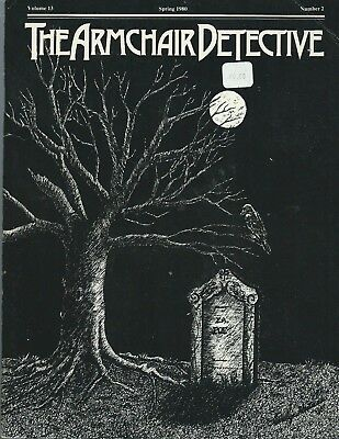 The Armchair Detective - Spring 1980 Volume 13 Number  - crime fiction magazine