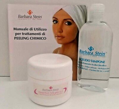 BARBARA STEIN Deep Peel Gel Esfoliante all'Acido Glicolico + Liquido Tampone