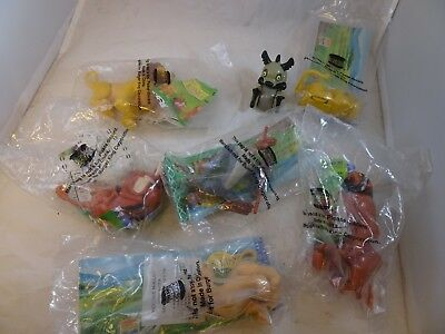 Burger King Complete set of 7 Disney The Lion King Toys New in Sealed Package