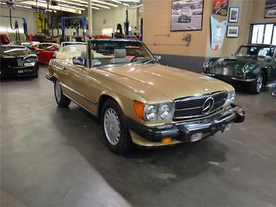 1986 SL-Class Roadster 1986 Mercedes Benz 560SL Roadster 30,390 Miles Rare Colors, Collector Owned