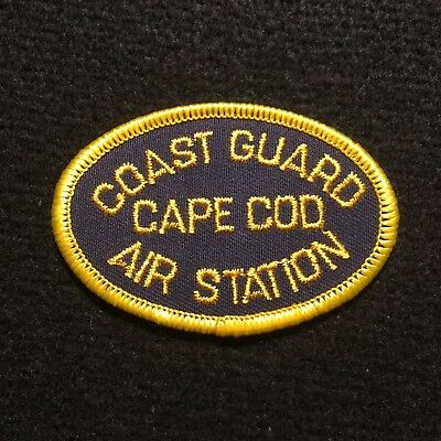 USCG - US Coast Guard Air Station Cape Cod Patch / ASCC Massachusetts Military