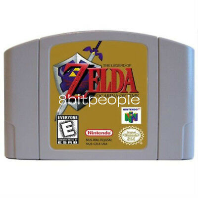 The Legend of Zelda: Ocarina of Time - Nintendo 64 Video Game for N64 Console US