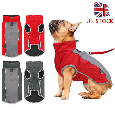 Waterproof Pet Dog Vest Clothes Jacket Winter Puppy Dog Coat Costume Clothing UK