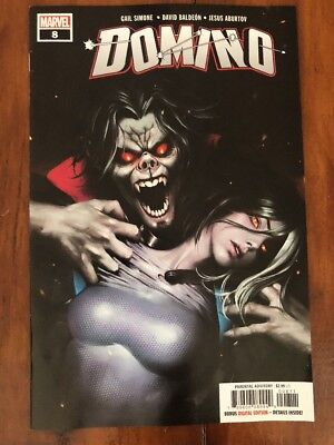 Domino #8 (vol. 3) 1st Print MORBIUS Marvel VF/NM GANG HYUK LIM SOLD OUT!