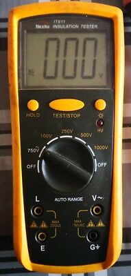 Isotest Tester Isolamento isulation tester 20g ohm