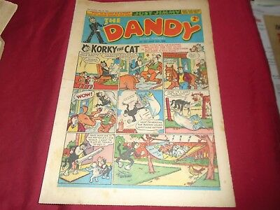THE DANDY COMIC #757 May 26th GD 1956