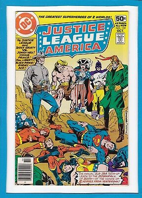 Justice League Of America #159_October 1978_Very Fine_Justice Society_Jonah Hex!