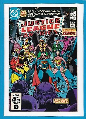 Justice League Of America #197_December 1981_Near Mint Minus_Justice Society!
