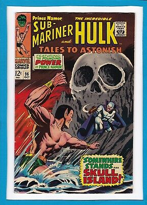 Tales To Astonish #96_October 1967_Very Fine_Incredible Hulk_Sub-Mariner!