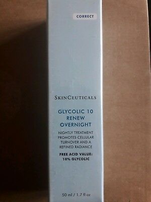 SkinCeuticals - Glycolic 10 Renew Overnight - new and sealed 50ml