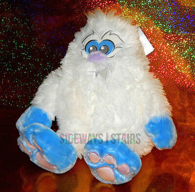"10"" BIG FEET YETI PLUSH Disney Parks stuffed toy cute abominable snow monster"