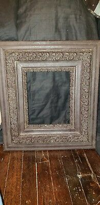 Large  Antique Vintage Victorian SHADOW BOX  Picture Frame 1920's?