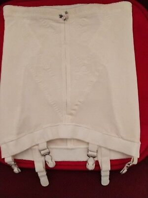 Vintage Playtex Double Diamond Girdle open bottom and exquisite firm take shape