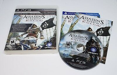 Assassins Creed IV Black Flag for the PS3 PlayStation 3 Used Pre-Owned Complete