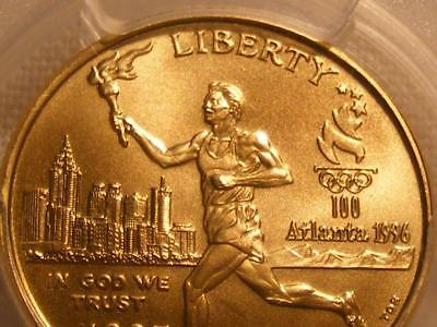 1995 W $5.00 Gold Olympic Torch Runner Commemorative PCGS MS 70