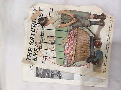 Antique September 26,1931 The Saturday Evening Post Book