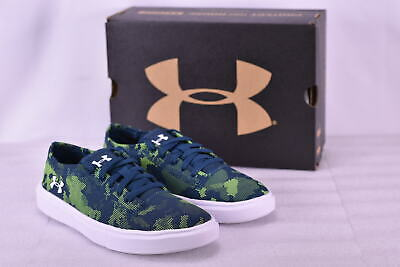 30dcb0ba5ccc BOY S UNDER ARMOUR Kickit 2 Low Utility Shoes True Ink White ...