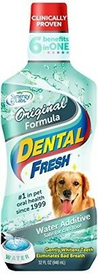 Dental Fresh Water Additive - Original Formula For Dogs - Clinicially Proven, Si