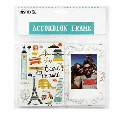 Fujifilm Instax Accordion Photo Frame - Travel