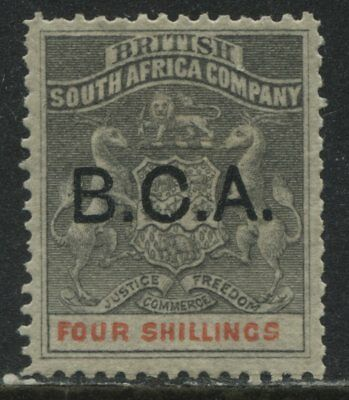 British Central Africa 1891 4/ mint o.g.
