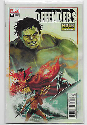 Defenders #10 Marvel Comic 2018 Stephanie Hans Hulk Variant Cover Doctor Strange