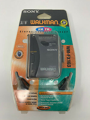 SONY WALKMAN WM-FX163 AM/ FM Stereo Cassette Player B4