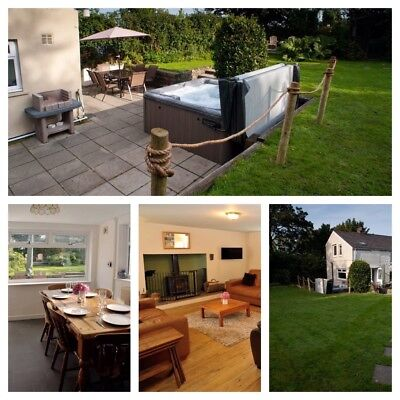 Holiday Cottage, New Quay Wales, Hot Hub, Pet Friendly, sleeps 6