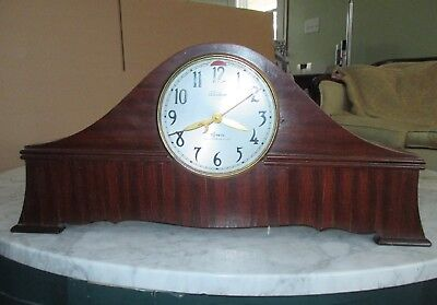 Vintage 1939 Telechron motored REVERE Westminster Chime electric Clock R-1207