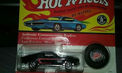 Hot Wheels LImited Edition Seattle Toy Show 1995 Custom Mustang Vintage