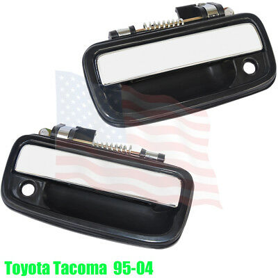 Outer Chrome Exterior Front  Right Door handle for 95-04 Toyota Tacoma