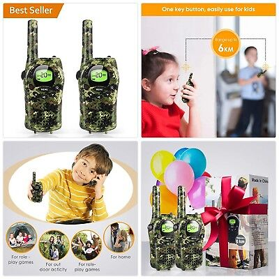 Walkie Talkies for Kids, Toys for 3-12 Year Old Boys 2 Way Radio 3 Mile Long Ran