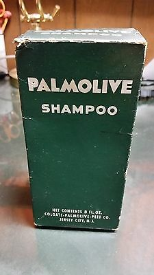Palmolive Shampoo Bottle & Box  Full  8 oz./Used
