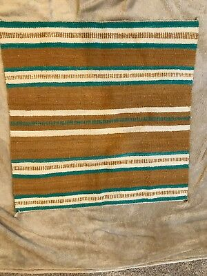 "Vintage  Navajo Rug 28"" X 29"" Native American Indian Rug"
