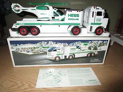 Hess 2006 Toy Truck and Helicopter New in Original Box With Insert