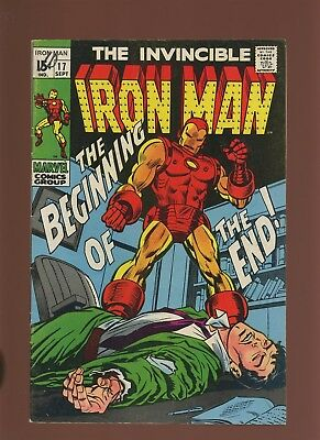 Iron Man 17 FN 6.0 * 1 Book Lot * Beginning of the End by Goodwin & Tuska!