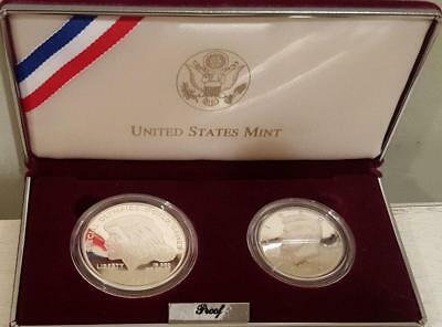 1995 Kennedy Set Special Olympics Proof Silver Dollar & JFK Proof Half Dollar