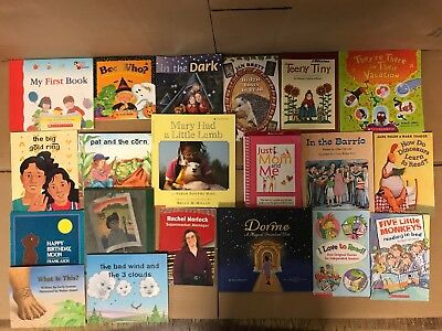 Lot of 20 K-5 Scholastic Learn to Read Picture Mix Set Kid Children Book NR #Y36