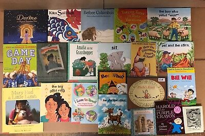 Lot of 20 K-5 Scholastic Learn to Read Picture Mix Set Kid Children Book NR #Y37