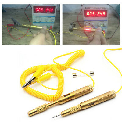 Automotive Voltage Tester Pen Electrical Car Light Lamp Test Pencil 6-12V D7B4