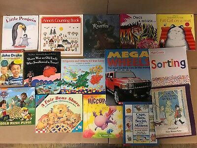Lot of 20 K-5 Scholastic Learn to Read Picture Mix Set Kid Children Book NR #M38