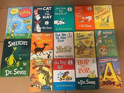 Lot of 20 Dr. Seuss I Can Read It Beginner Early Children Kids Read Books #N07