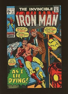 Iron Man 37 FN+ 6.5 * 1 Book Lot * Marvel! 1968-74! This Hour of Earthdoom!