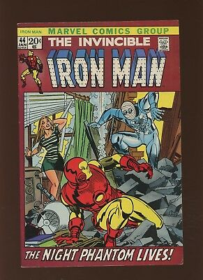 Iron Man 44 FN+ 6.5 * 1 Book Lot * Marvel! 1968-74! Weep for a Lost Nightmare!