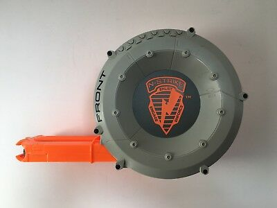 Nerf N-Strike Elite Dart Drum 35 Round Magazine Ammo Clip Cartridge Barrel