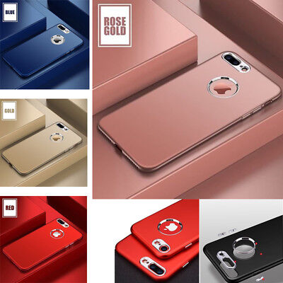 For iPhone XS Max XR 7 Plus 6S Case Shockproof Ultra Thin Hybrid Back Hard Cover